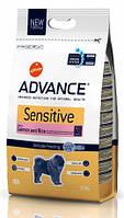 Advance (Эдванс) Dog Sensitive (с лососем и рисом) гипоаллергенный сухой корм для собак 3,0 кг