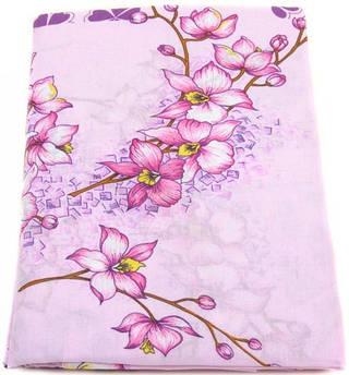 Прекрасный комплект постельного полуторного белья бязь Тиротекс 2662-4 розовый