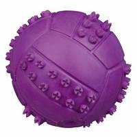 Мяч резиновый с пищалкой 6см 34841