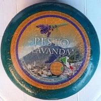 "Сыр BLUE PESTO LAVANDA ""С песто и Лавандой"""