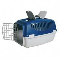Переноска для животных Capri II 55*37*34 39821 синяя/голубая