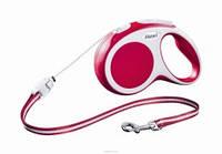 Flexi Vario  CORD S – трос 5 м на 12 кг красная
