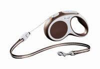 Flexi Vario CORD М – трос 5 м на 20 кг коричневая
