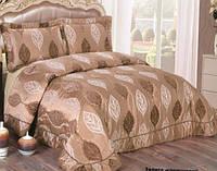 Покрывало Arya 250Х260  Maura золото-коричневый