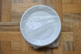 Тарелка одноразовая, пластиковая D165 Эргопак