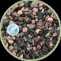 Грунт черно-розовый базальт 10кг , Nechay Zoo 5-10 мм