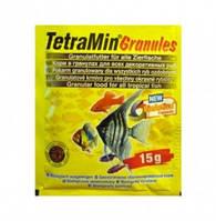 Тetra MIN Granules для всех видов рыб в гранулах 15 гр