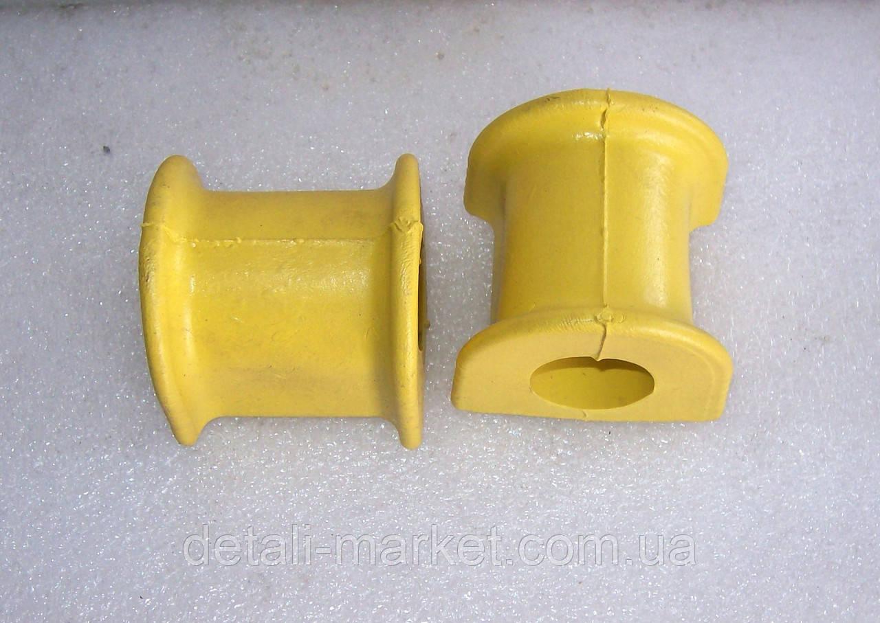 Втулка стабилизатора Ланос гладкая силиконовая