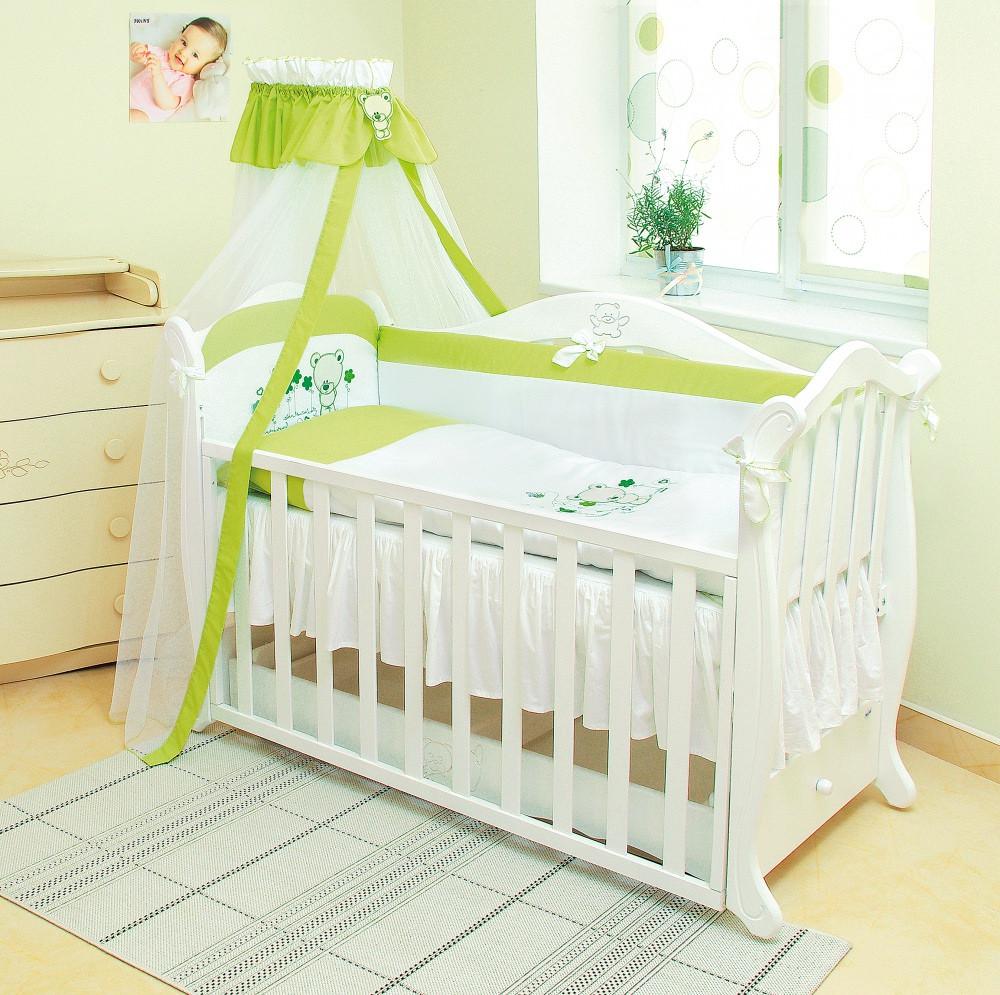 Детский постельный комплект Evolution «Лето» (А-018, 7 элементов), Twins