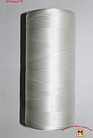 Нитка капроновая 1 кг рыболовная 29*4(0,55мм) крученая полиамидная