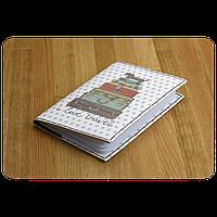 """Обложка для паспорта """"На чемоданах"""" + блокнотик"""