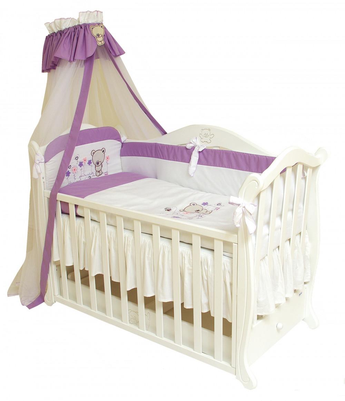 Детский постельный комплект Evolution «Лето» (А-019, 7 элементов), Twins