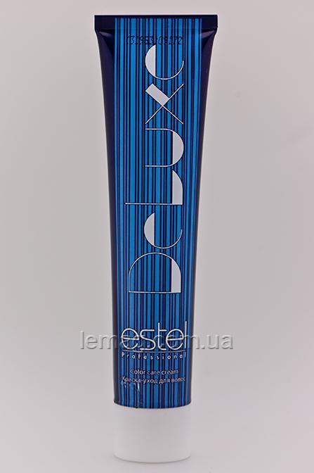 Estel DE LUXE 7/16 Крем-краска - Русый пепельно-фиолетовый, 60 мл