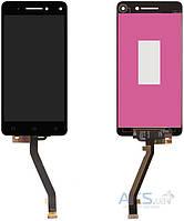Дисплей (экран) для телефона Lenovo Vibe S1 + Touchscreen Original Black
