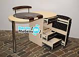 """Маникюрный стол """"Бастион"""" с вытяжкой, фото 3"""