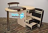 """Маникюрный стол """"Бастион"""" с вытяжкой, фото 6"""
