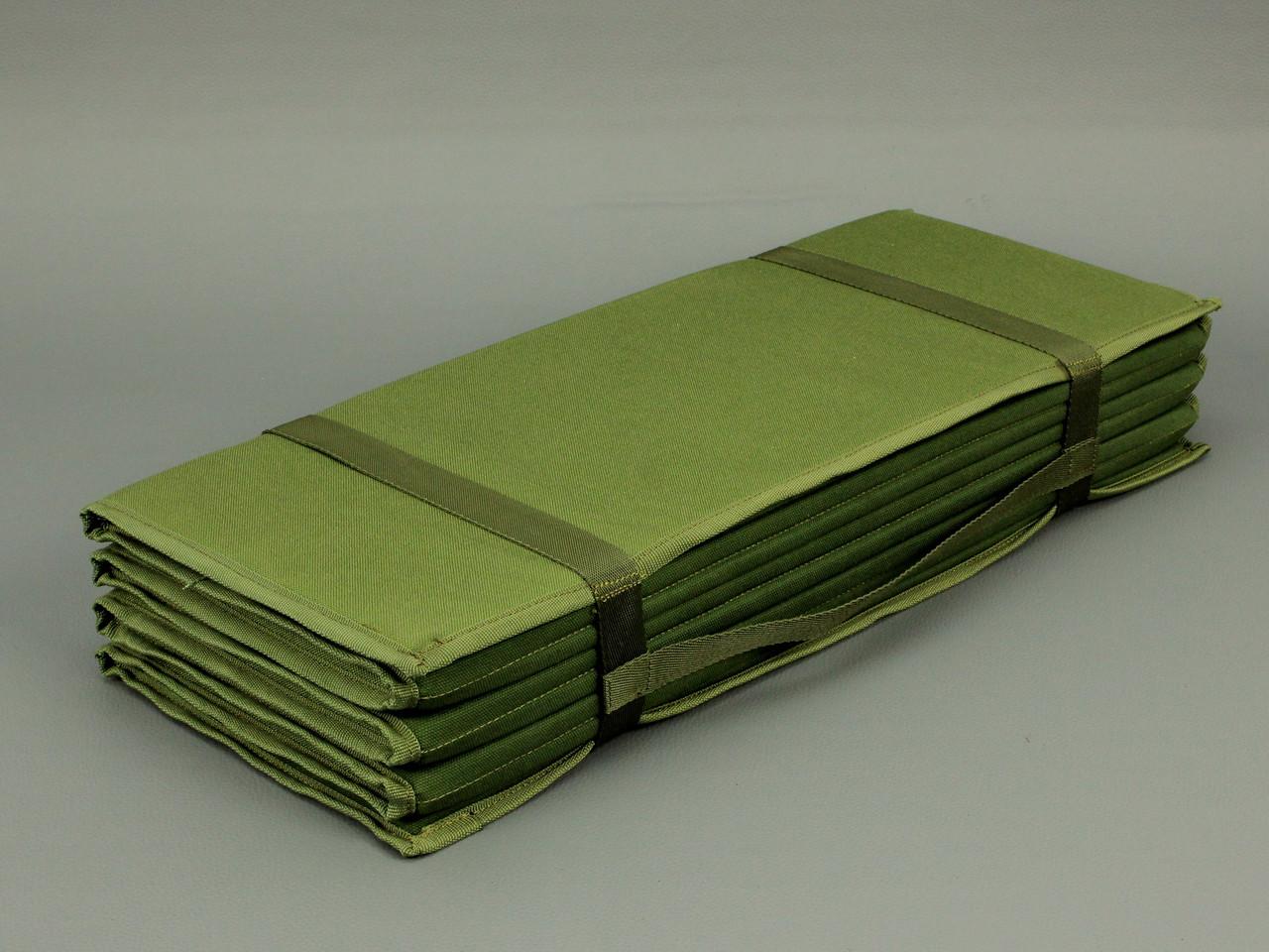 Каремат износостойкий складной 190х60см, Olive Drab Cordura 1000D, нейлон 100%