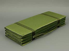 Коврик для военных износостойкий складной 190х60см, Olive Drab Cordura 1000D
