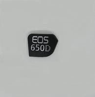 Логотип (logo) корпуса фотокамеры Canon EOS 650D