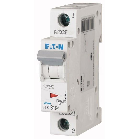 Автоматический выключатель Eaton (Moeller) PL6-C32/1 (286536)