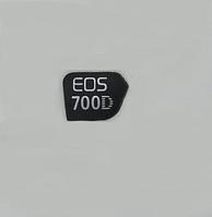 Логотип (logo) корпуса фотокамеры Canon EOS 700D