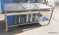 Стол для упаковки на колесах 2000х1000х850