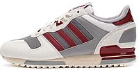 Женские кроссовки Adidas ZX700 White Rusred Mgsogr (aдидас ZX) белые