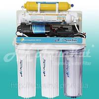 Система обратного осмоса AquaKut с помпой, минерализатором 75G RO-6 A02