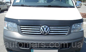 Накладки на переднюю решётку Volkswagen T5 Transporter/ Caravelle/ Multivan