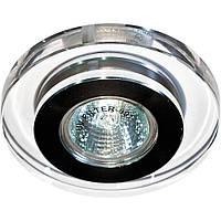 Светильник направленного света Feron 1886 4162DL под MR16 хром (круглое стекло)