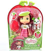 Кукла Шарлотта Земляничка серии Домашние любимцы Земляничка (15 см, с ароматом) Strawberry Shortcake