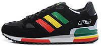 Женские кроссовки Adidas ZX750 Black (aдидас ZX) черные