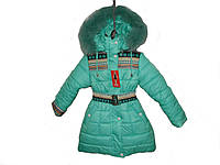"""Зимняя куртка на девочку """"Олеся"""", фото 1"""