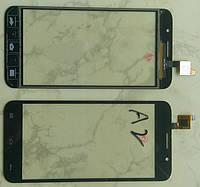 GSmart Alto A2 Gigabyte тачскрін сенсор чорний оригінальний