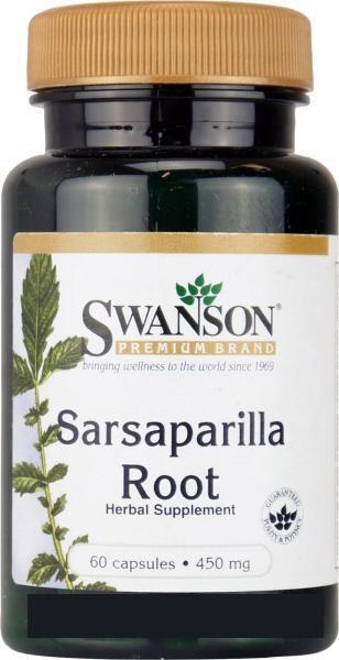 Сарсапарель Корень, 450 мг 60 капсул