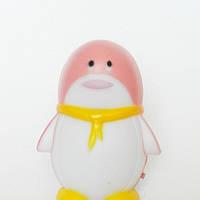 """Светильник ночной Feron 1946 FN1001 """"пингвин"""" 3LED 0.3W розовый"""