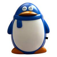 "Светильник ночной Feron 1944 FN1001 ""пингвин"" 3LED 0.3W синий"