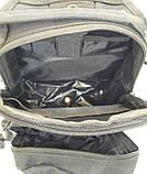 Тактичний рюкзак однолямочный. Чорний, мультикам, олива, койот (пісок), фото 9