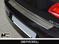Накладка на бампер карбон для Suzuki SX4 '06-, седан (Premium+k)