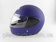 Шоломи для мотоциклів Hel-Met 101 синій мат, фото 3