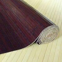 Бамбуковые обои, Венге, нелак. BW101-03 п.8 мм, высота рул.2,5 м