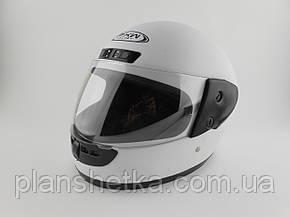 Шоломи для мотоциклів Hel-Met 101 білий мат, фото 2