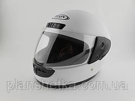 Шоломи для мотоциклів Hel-Met 101 білий глянець