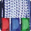 Светодиодная Led лента 5050smd 220V IP67 RGB 60 led герметичная