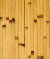 Бамбуковые обои, светлые/обожженные, нелак. BW 208 п.17 мм, высота рул.2 м