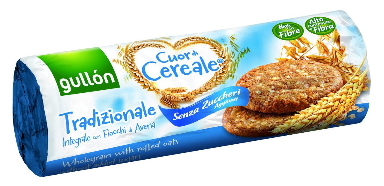 Печенье без сахара Cuor di Cereale Gullon (для диабетиков), 280 г