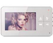 """Видеодомофон Qualvision QV-IDS4425 с монитором 4"""" и сенсорными клавишами"""