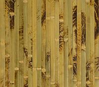 Бамбуковые обои,Черепаховые, нелак. BW201 п.17 мм, высота рул.2,5 м