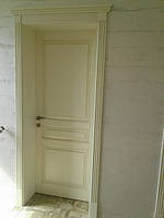 Двері білі, з патиною (модель 1)