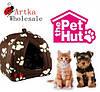 Мягкий домик-подстилка  Pet Hut для собак и кошек